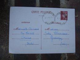 Ornans  Horoplan Cachet Horodateur Sur Carte 2 Zones Guerre 39.45 - Storia Postale