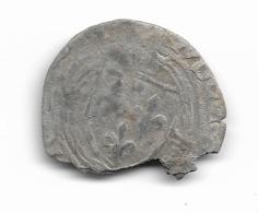 Blanc à La Couronne De Louis XI - 1461-1483 Louis XI Le Prudent