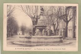 PONT ST ESPRIT  FONTAINE DU COQ  BD DU NORD - Pont-Saint-Esprit