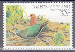 CHRISTMAS ISLAND   SCOTT NO. 124   MNH      YEAR  1982 - Christmas Island