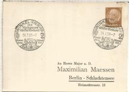 ALEMANIA 3 REICH 1937 WINKEL VINO WINE ENOLOGIA - Vinos Y Alcoholes