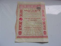 LA PRODUCTION ET LE COMMERCE DU RAISIN DE CORINTHE (the Production And Trade Of Currants) 1905  Athènes,grèce - Actions & Titres