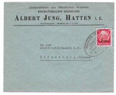 BAHNPOST WALBURG-SELZ, Zug 02570, 1941 - Alsace-Lorraine