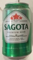 Vietnam Viet Nam SAGOTA 330ml Empty Beer Can / Opened By 2 Holes At Bottom - Dosen