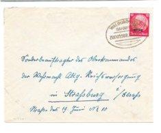 BAHNPOST WALBURG-SELZ, Zug 02568, 1941 - Alsace-Lorraine