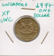 SINGAPORE COIN  I DOLLAR-1997-USED AS SCAN(Kbx2) - Singapore