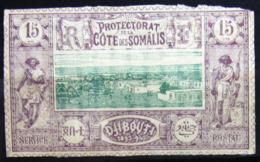 COTES DES SOMALIS                    N° 11                    NEUF* - Côte Française Des Somalis (1894-1967)