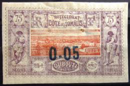 COTES DES SOMALIS                    N° 23                    NEUF*    (gomme Altérée) - Côte Française Des Somalis (1894-1967)