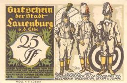 Notgeld 25pfg.Stadt Lauenburg UNC (I) - [11] Lokale Uitgaven