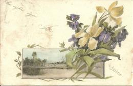 Paesaggio E Mazzo Fiori, Illustrazione, Catharina Klein Illustratore - Klein, Catharina