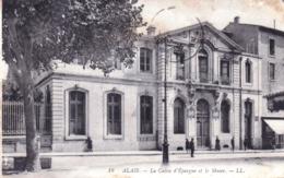 30 - Gard - ALAIS - ALES - La Caisse D Epargne Et Le Musee - Alès