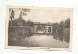 Cp, 49 , ANDARD ,le Pont Sur La Rivière , Vierge - Autres Communes