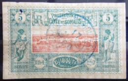 COTES DES SOMALIS                    N° 9                    OBLITERE - Côte Française Des Somalis (1894-1967)