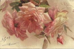 Mazzo Di Rose, Illustrazione, Catharina Klein Illustratore - Klein, Catharina