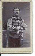 Chasseur Du 19° Regiment -photo Leroy-10,50 Sur 6,50cm - Guerre, Militaire