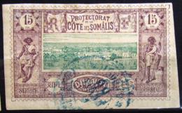 COTES DES SOMALIS                    N° 11                    OBLITERE - Côte Française Des Somalis (1894-1967)