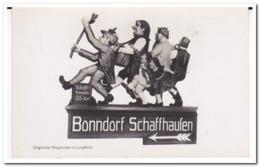 Lenzkirch, Origineller Wegweiser - Duitsland