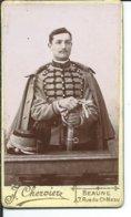 Chasseur  Du 16° Regiment-Beaune -photo Chervière-10,50 Sur 6,50cm - Guerre, Militaire