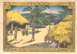 Notgeld 75pfg Togo Kolonien Deutsch-Hanseatischer Kolonialgedenktag AU/EF (I) - [11] Lokale Uitgaven