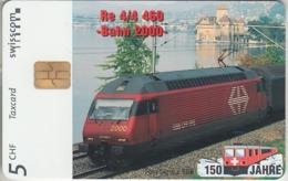 SUISSE - PHONE CARD - TAXCARD-PRIVÉE * CHIP *** TRAIN - ZUG - 150 ANS / 2B *** - Schweiz