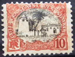 COTES DES SOMALIS                    N° 57                    NEUF* - Côte Française Des Somalis (1894-1967)