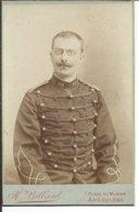 Militaire Du 33° Regiment -photo Billard-Angoulême-16,50 Cm Sur 10,50cm - Guerre, Militaire