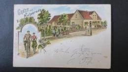 PostKarte Gruss Aus Holpernde 1900 , Postcard Used - Braunschweig
