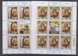 Europa Cept 2003 Yugoslavia 2v Sheetlets ** Mnh (44700) - Europa-CEPT