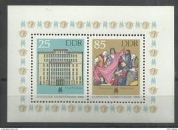 """DDR Bl.85 """"Leipziger Herbstmesse 1986"""" Postfrisch  Mi.-Preis 1,60 - DDR"""