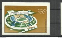 """DDR Bl.46 """"""""XXI. Olympische Spiele 1976 """" Postfrisch Mi: 1,90 - DDR"""