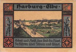 Notgeld 50pfg.Stadt Harburg AU/EF (II) - [11] Lokale Uitgaven