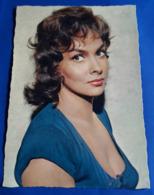 Portrait GINA LOLLOBRIGIDA # Alte Star-Foto-AK # [19-831] - Schauspieler