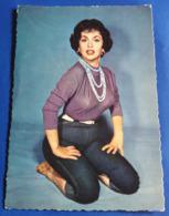 Portrait GINA LOLLOBRIGIDA # Alte WS-Star-Foto-AK # [19-828] - Schauspieler