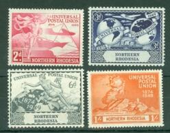 Northern Rhodesia: 1949   U.P.U.    MH - Rhodésie Du Nord (...-1963)