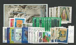 1995 MNH Vaticano, Vatikanstaat, Year Collection, Postfris** - Annate Complete