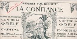 ASSURER VOS RECOLTES A LA CONFIANCE / CONTRE LA GRELE / RARE - Bank & Insurance