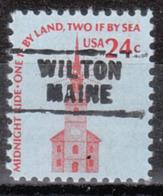 USA Precancel Vorausentwertung Preo, Locals Maine, Wilton 729 - Vereinigte Staaten