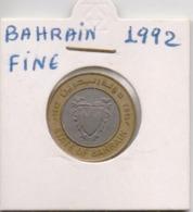 BAHRAIN COIN  100 FILS-1992-USED AS SCAN(Kbx2) - Bahrein