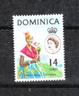 Dominica  - 1963-67. Donna Di Dominica. Woman Of Dominica. MNH - Costumi