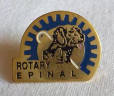 PINS PIN  Epinal ROTARY Chiens Aveugles 88 Vosges - Pin's & Anstecknadeln
