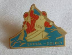 PINS PIN  Epinal Golbey Canoe Cayak  88 Vosges - Canoë