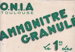 BUVARD / ONIA / TOULOUSE / AMMONITE GRANULES - Agriculture