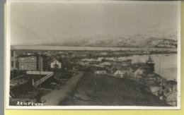 ISLANDE  Carte Photo - AKUREYI - Vue Partielle - Islande