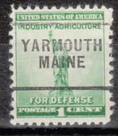 USA Precancel Vorausentwertung Preo, Locals Maine, Yarmouth 256 - Vereinigte Staaten