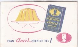 BUVARD / FLAN ANCEL / RIEN DE TEL - Produits Laitiers