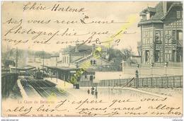 La Gare De BELLEVUE . - Frankrijk