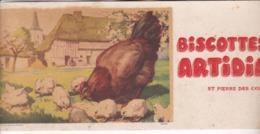 BUVARD / BISCOTTES ARTIDIA / SAINT PIERRE DES CORPS / RARE - Biscottes