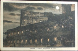 GAETA Castello Aragonese - Formato Piccolo Viaggiata Nel 1928 - Latina