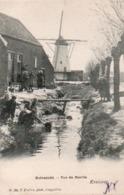 99Av  Kruisweg Lillo Molenzicht Vue Du Moulin - Lille