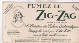 BUVARD / FUMEZ LE ZIG ZAG / ZOUAVE - Tobacco